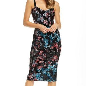 Dress the Population Lynda Embellished Midi Dress
